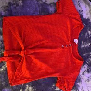Red cute shirt
